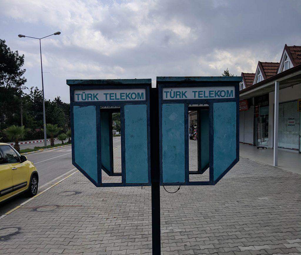телефонные будки в турции