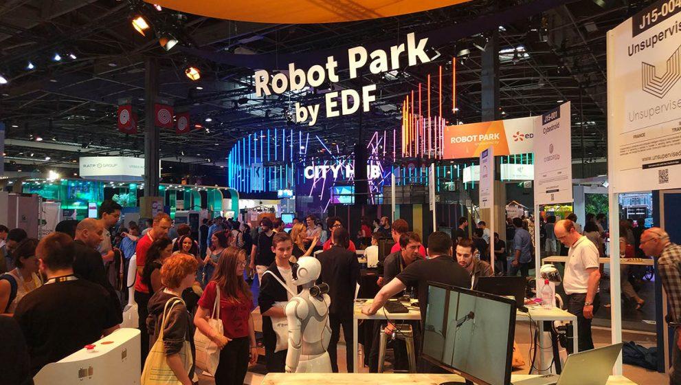 Viva Technology – крупная выставка стартапов во Франции