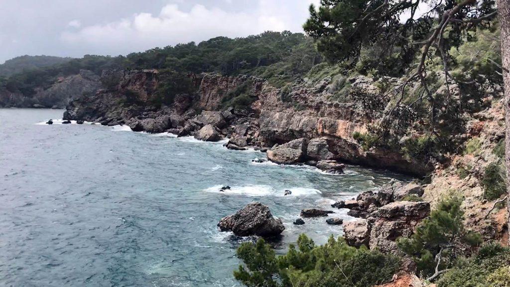 виды побережья турции кемер фаселис