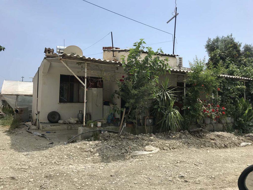 разрушенные дома в турции