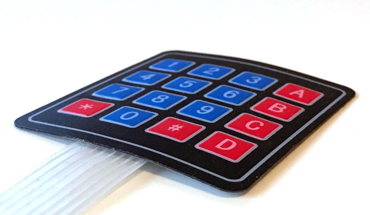 Матричная клавиатура на arduino. Опрос кнопок