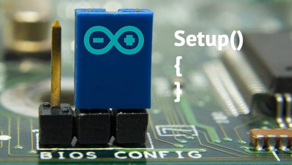 Контроль доступа, часть 5. Алгоритм сброса и первого старта программы через джампер в Arduino.