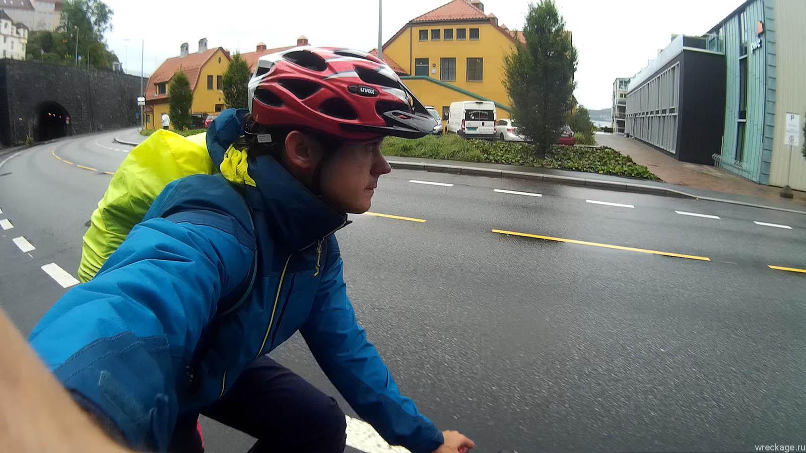 на велосипеде по норвегии