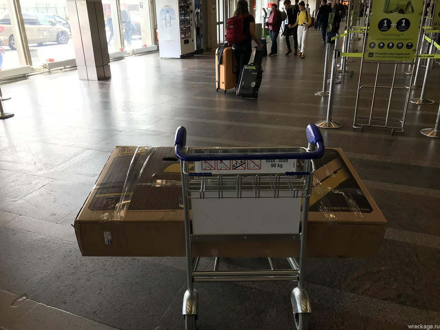 Как сдать велосипед в коробке в самолёт