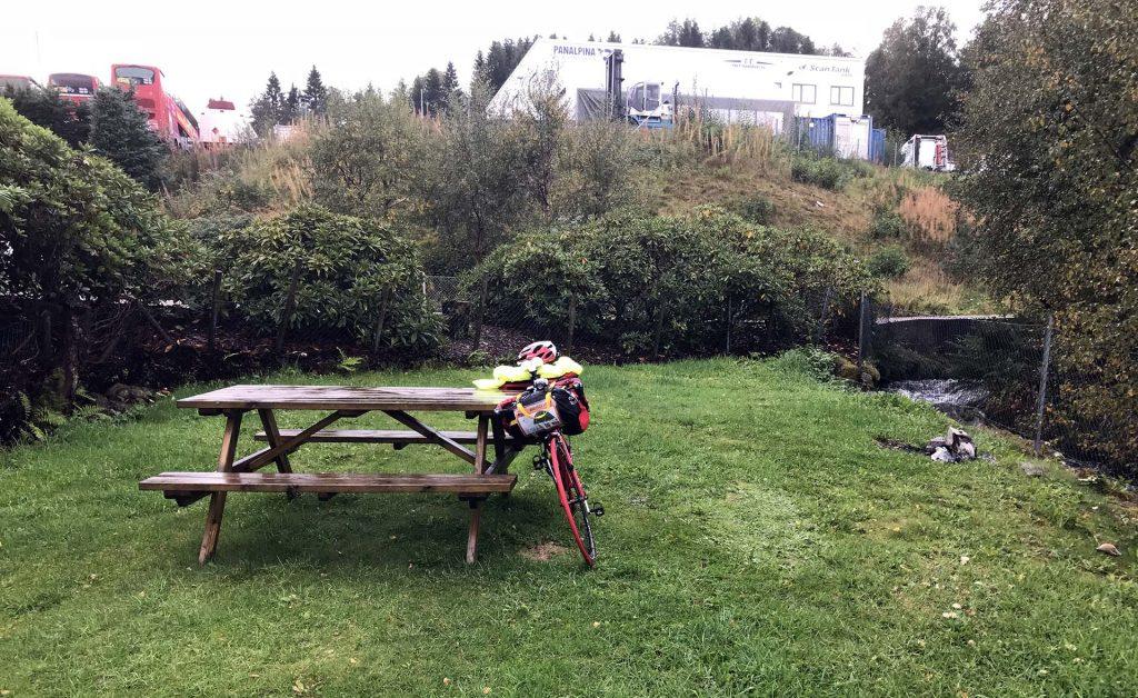 Кемпинг в Норвегии на велосипеде