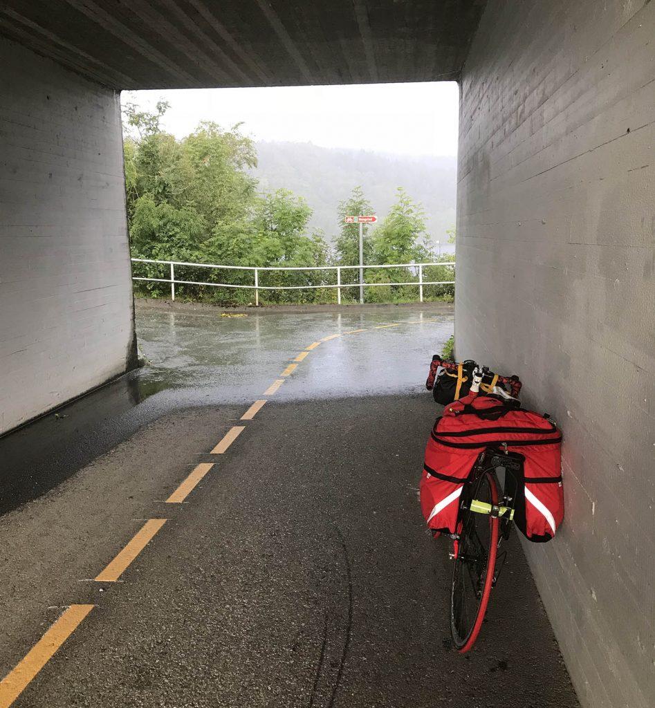 на велосипеде по норвегии шоссейном