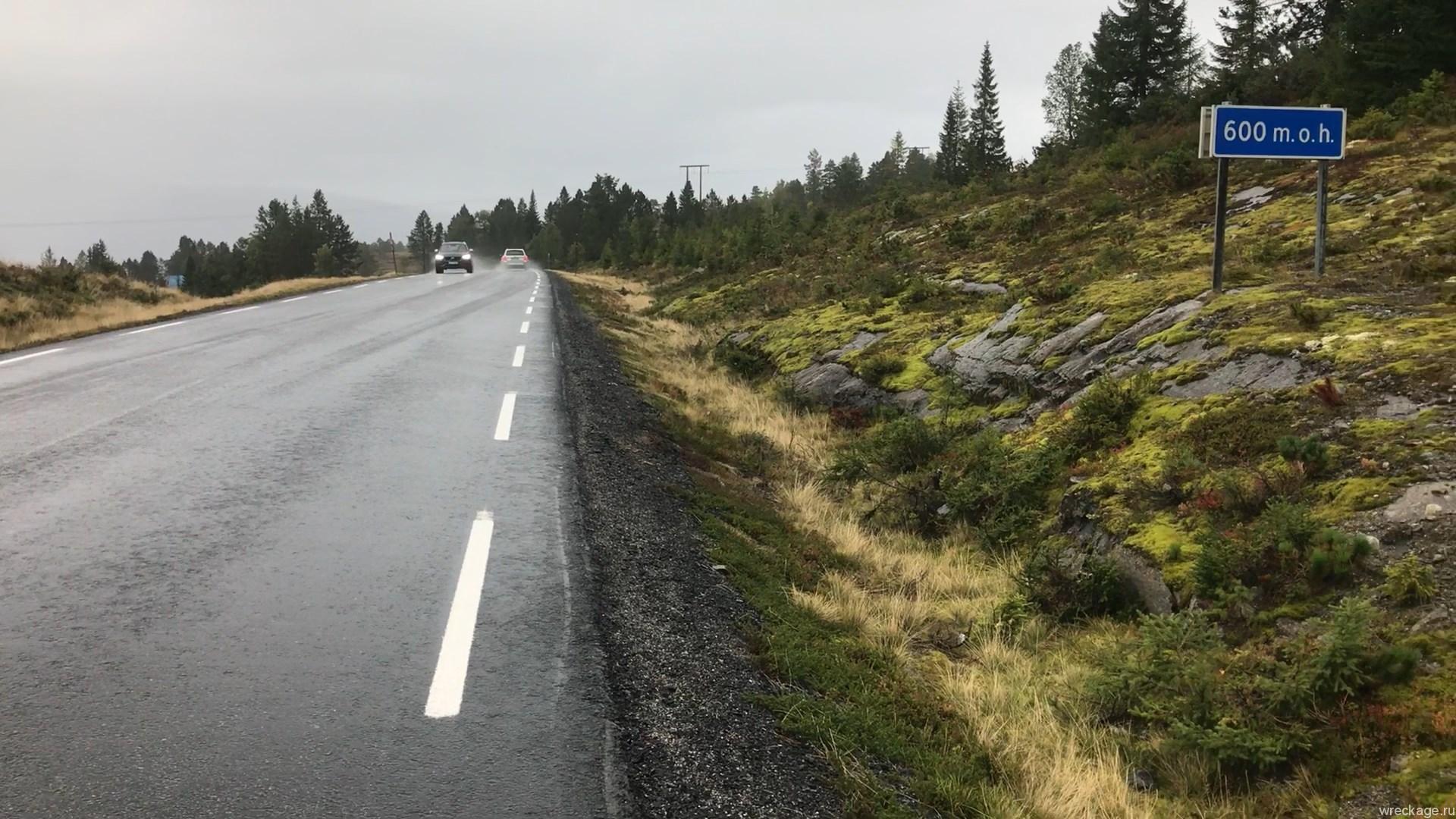 дорога до Utvik