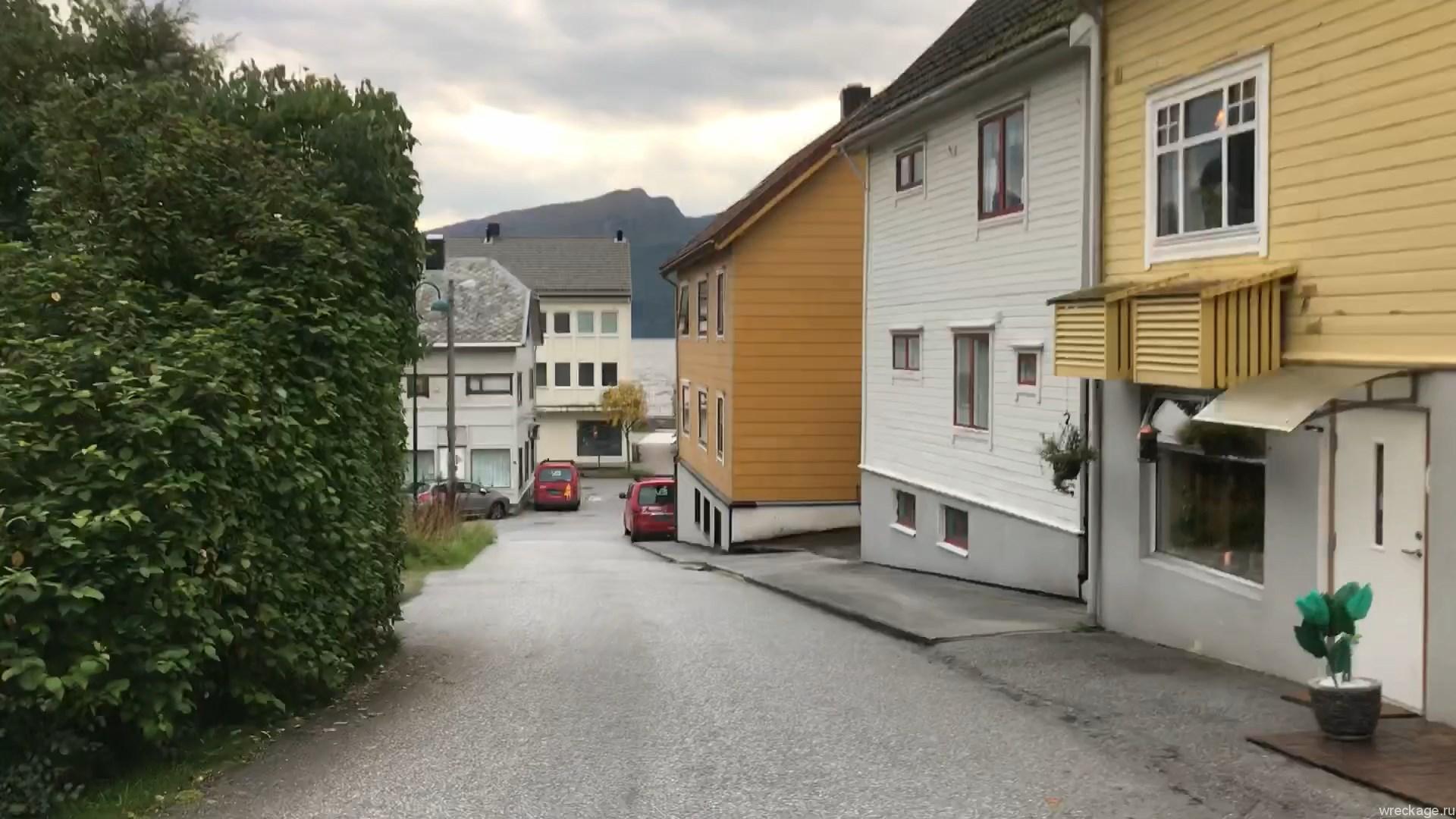 Город Volda Норвегия