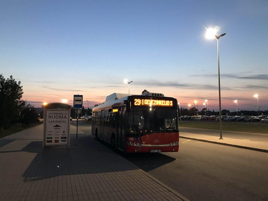 Каунас из аэропорта