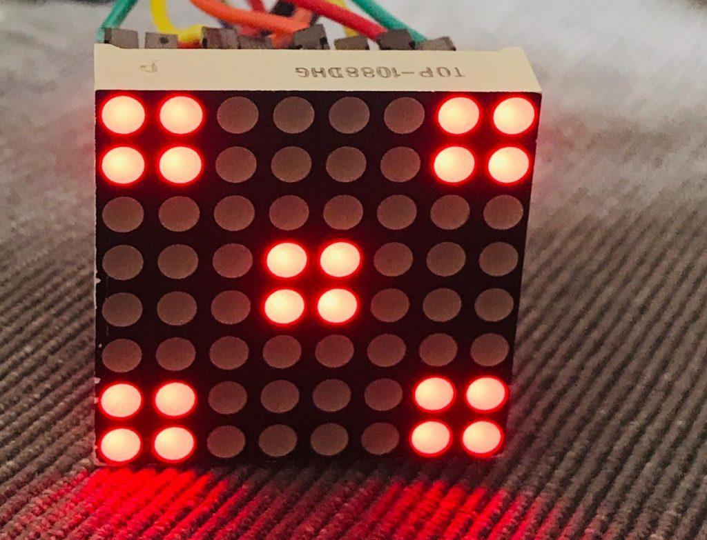 игральные кости на arduino