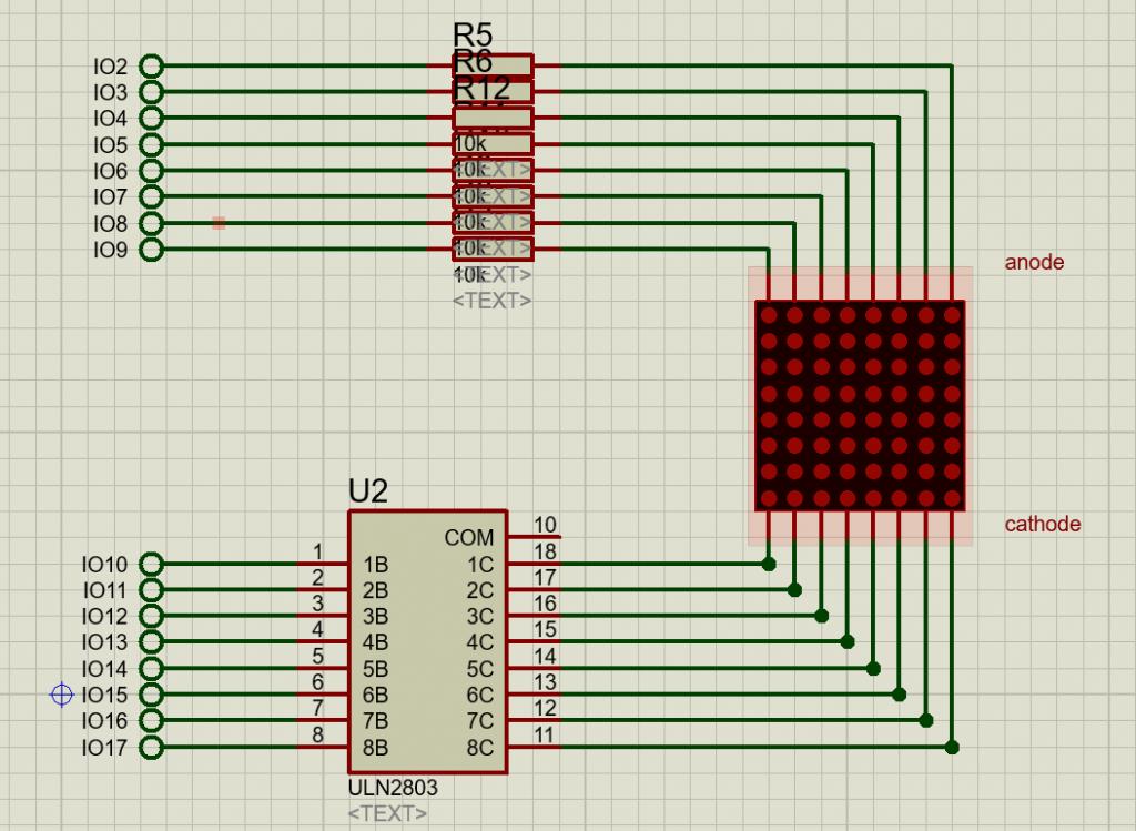 динамическая индикация arduino