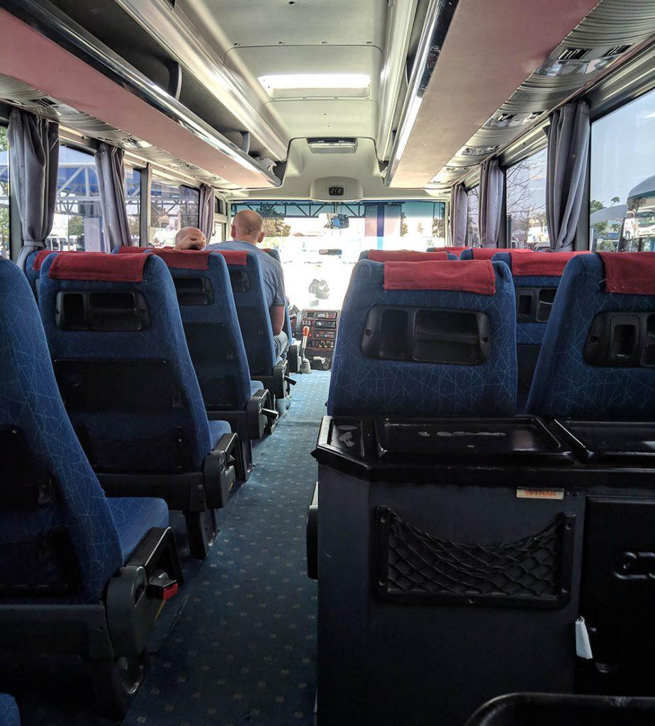 автобус анталия - кириш