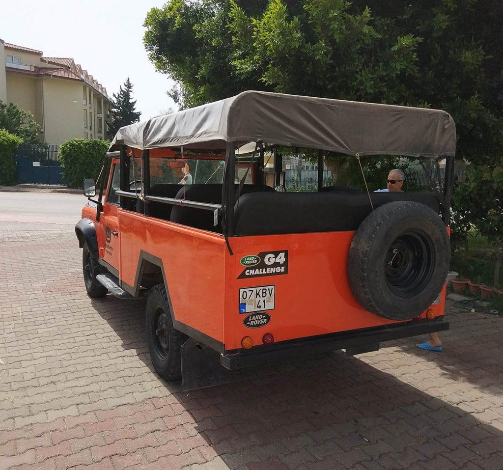 джиппинг турция кемер тахталы