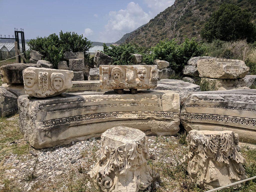 Ликия Мира гробницы Демре
