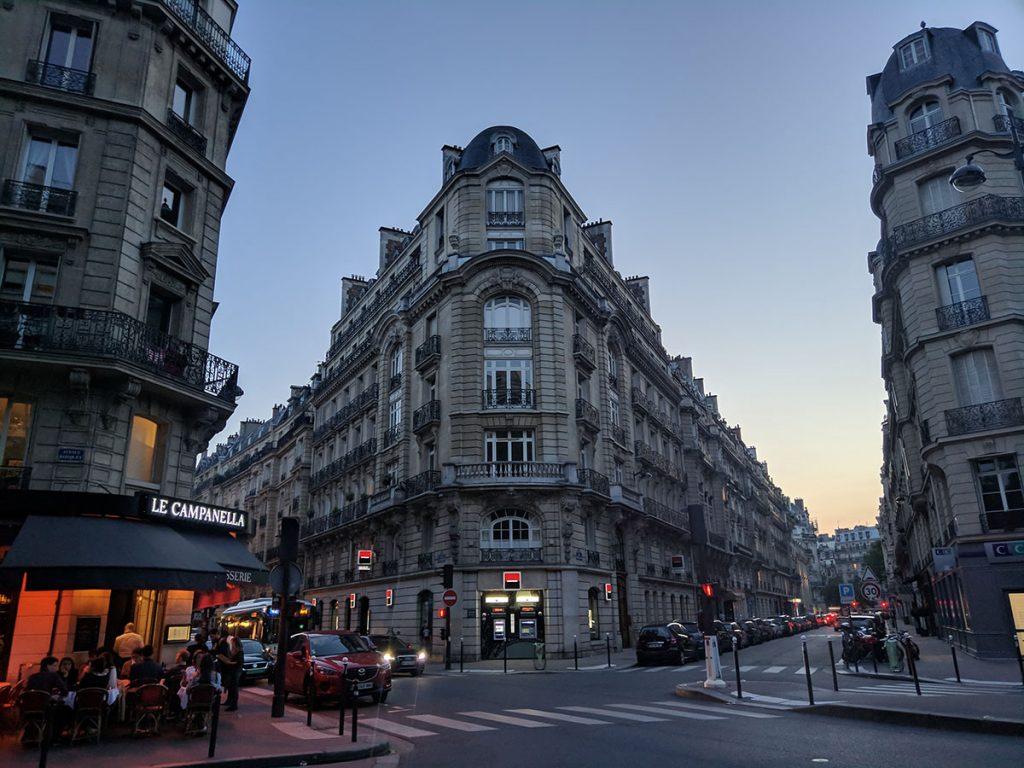 Париж улицы дизайн
