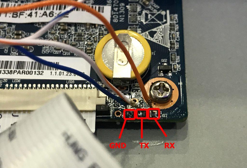 Сброс пароля DHI NVR-4104H