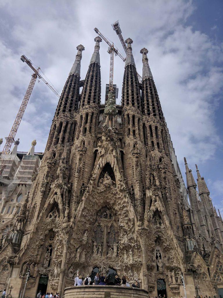 Храм Святого Семейства ( Sagrada Familia)
